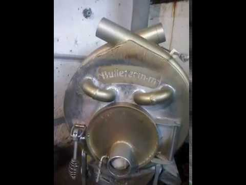 Печь-котел Булерьян с водяным контуром. Обзор и принцип работы .