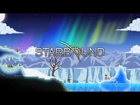 Кооперативное прохождение Starbound #8 [Копаем в глубины Ада]