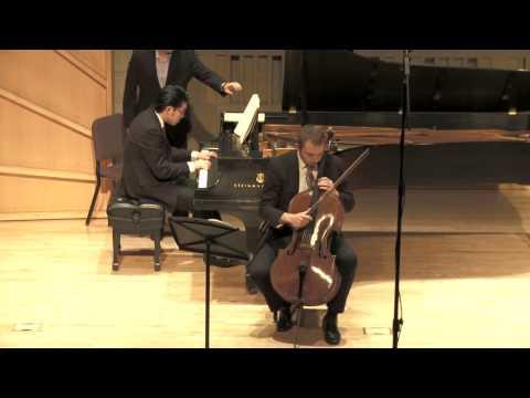 Dmitri Shostakovich Cello Sonata I  Allegro ma non troppo   Omega Ensemble