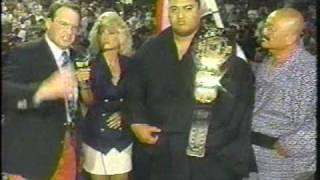 Boni Blackstone and Undertaker Yokozuna