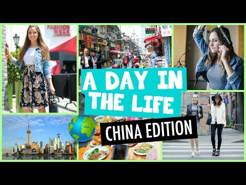 A Day in the Life: Fashion Week Shanghai!