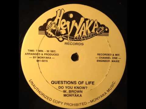 Monyaka - Questions of Life