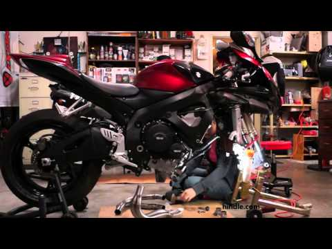 2007 GSX-R 600 Hindle Full Exhaust System Installation