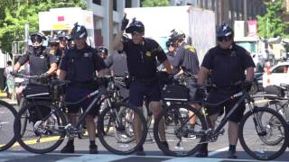 Cleveland Police bike moves used during the 2016 RNC