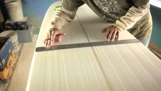 paul carter how to shape a surfboard - part1
