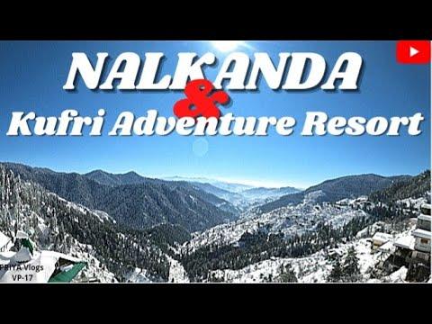 Narkanda Snowfall Kufri Adventure Resort Shimla Tour 2021 Travel Vlog Youtube
