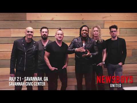 Newsboys United is coming to Savannah!