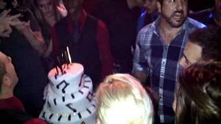 Chris kirkpatrick 40th surprise birthday party