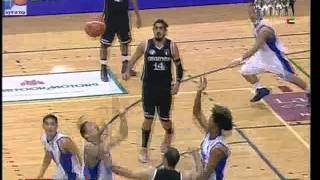 Al-Riyadi Aramex /Jordan - Smart Gilas /Philippines (Dubai Basketball Tournament 2013 / Day 5)