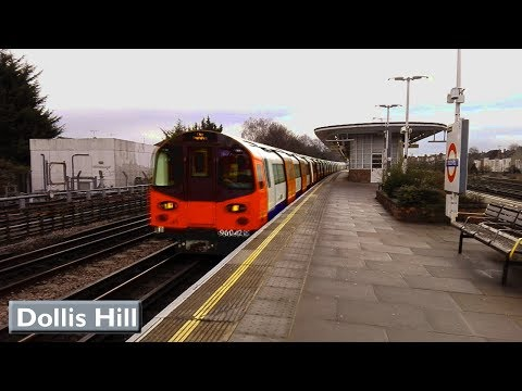 Dollis Hill | Jubilee line : London Underground ( 1996 Tube Stock - S8 Stock )