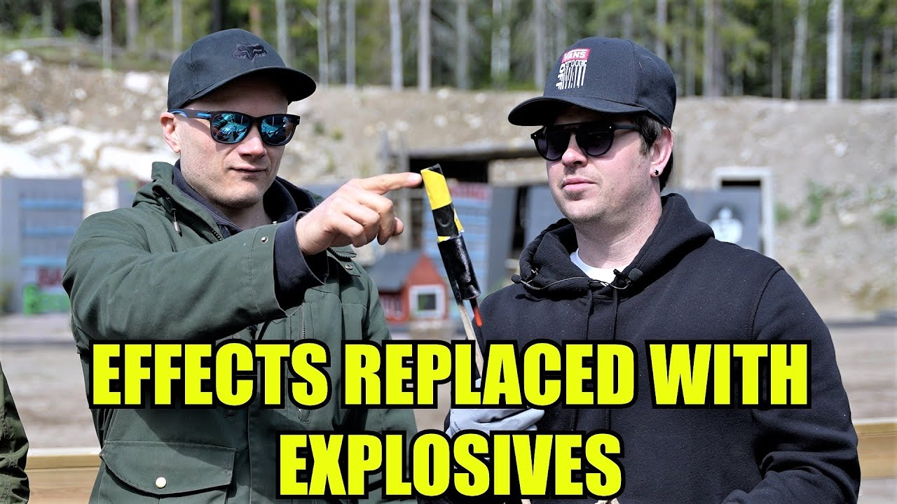 We Made Fireworks Extra Dangerous with Explosives