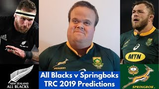 All Blacks vs Springboks Predictions | The Rugby Championship 2019