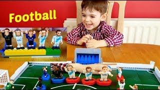 Kids Fun Playing with Toys- Football Team