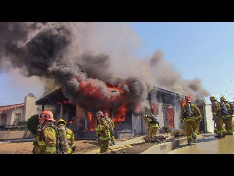 (Pre-Arrival + On Scene) LAFD Structure Fire Response