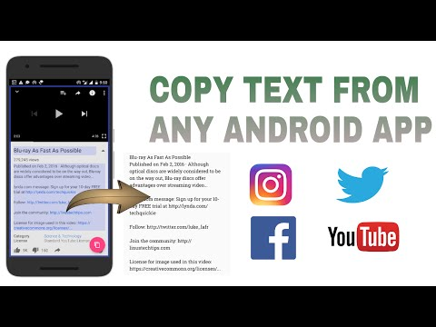 How To Copy Text From Any Android App
