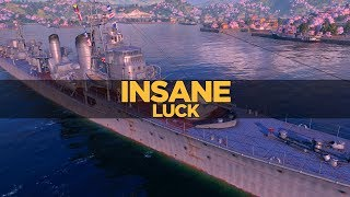 World of Warships - Insane Luck