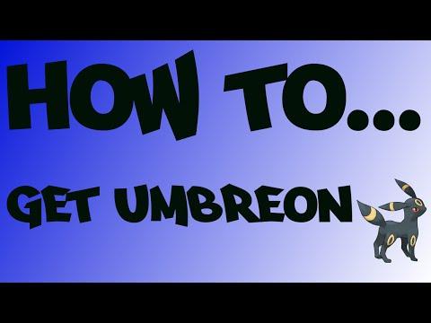 Pokemon ORAS   How to Evolve Eevee into Umbreon