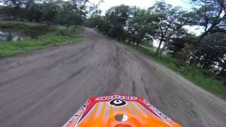 CRF450 - Greg riding at Leisure Time MX 7/27/2014