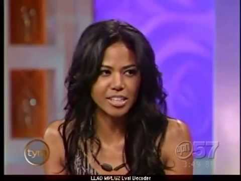 Amerie    on The Tyra Banks  05 10 2005