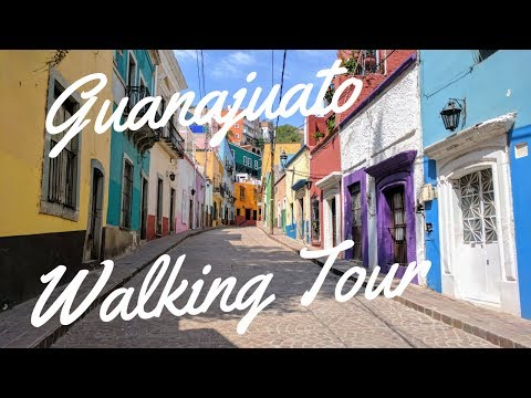 Guanajuato Mexico Travel Vlog Part 2: Explore On A Walking Tour