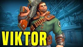 Literally 0 Recoil Viktor! | Paladins Viktor Gameplay & Build