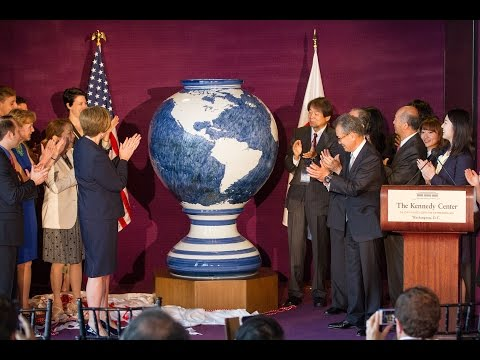 The Kennedy Center receives The Blue Star of Life from Japan
