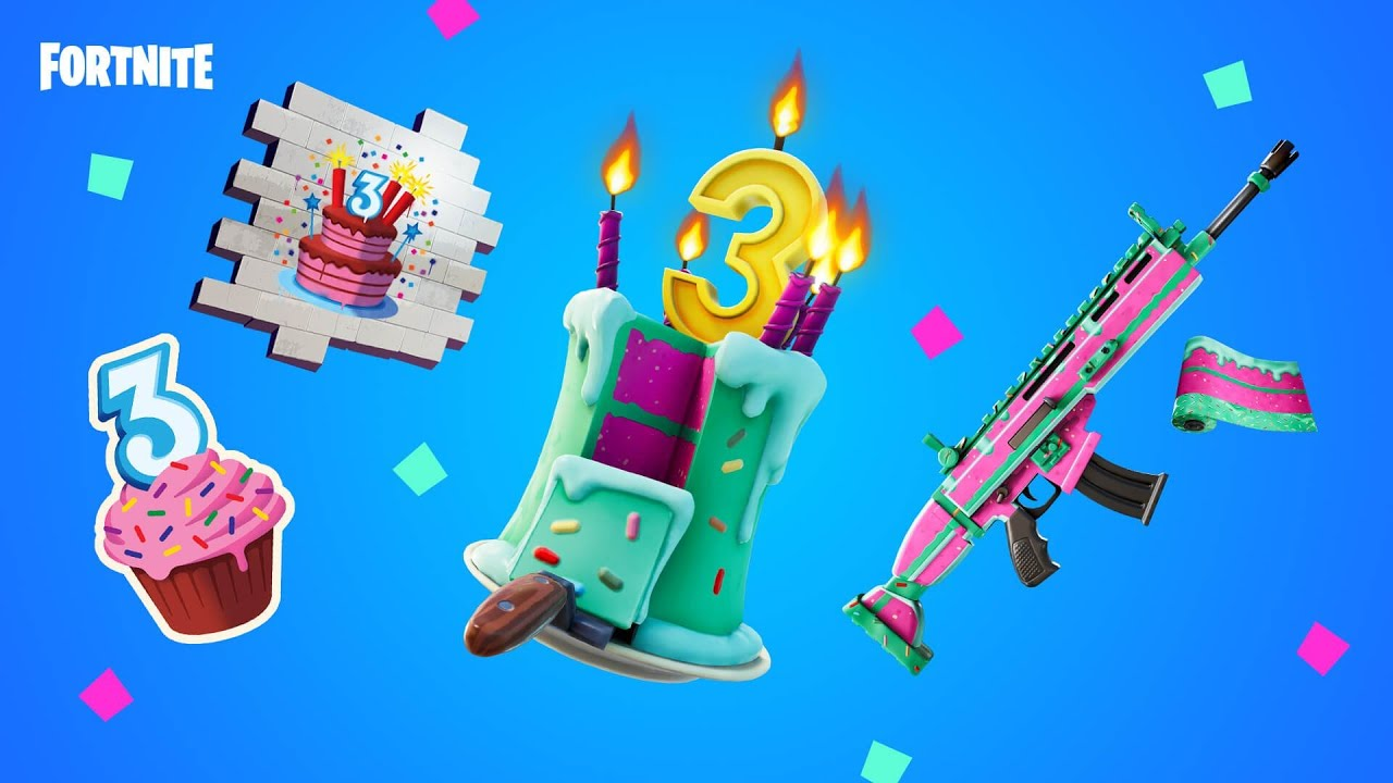 *NEW* FORTNITE BIRTHDAY EVENT! (FREE REWARDS)