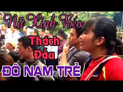 Đô vật nữ xinh gái thách đấu trai làng - Chùa Phú Lạc - Phú Xuân - Thái Bình