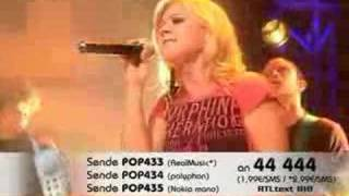 Kelly Clarkson - Behind These Hazel Eyes (Live @ TOTP-DE)