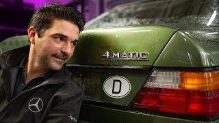 Stern Garage - So funktioniert die 4MATIC im 124er | Mercedes Benz W124 300E 4Matic