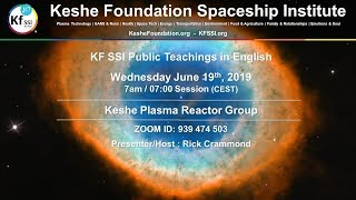 Keshe Plasma Reactor Group June 19 2019