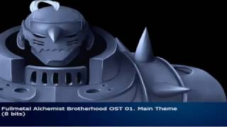 Fullmetal Alchemist Brotherhood OST 01. Main Theme (8 bits)
