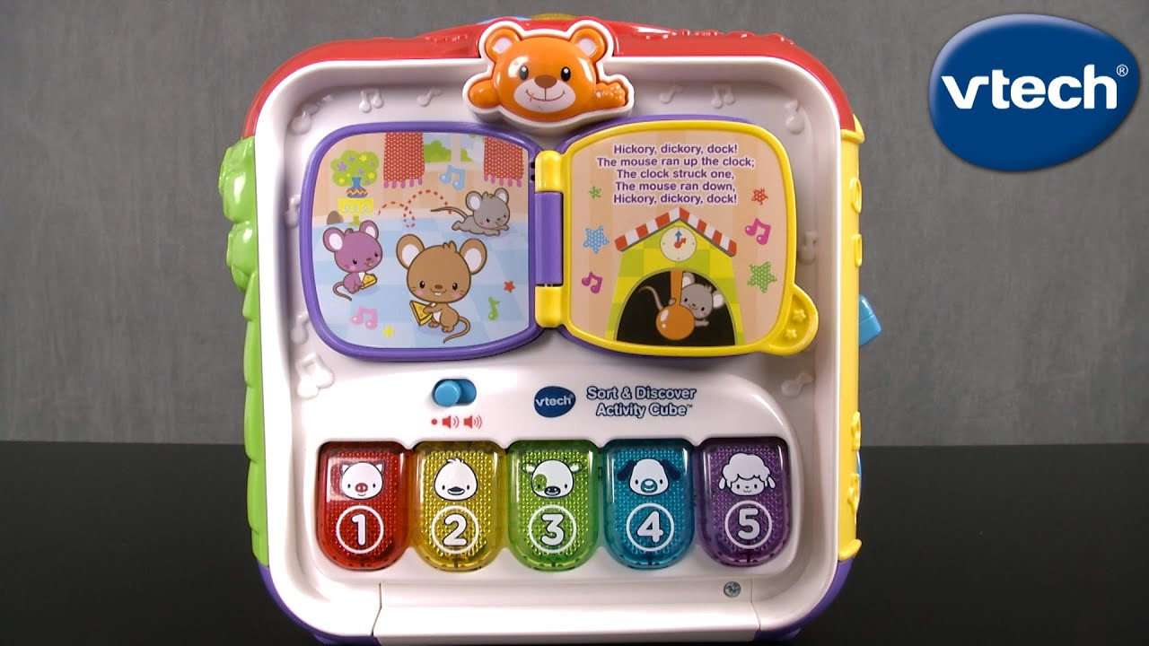 Sort Discover Activity Cube From Vtech Youtube