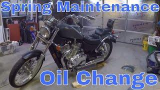 1995 Suzuki Intruder - Motorcycle Oil Change