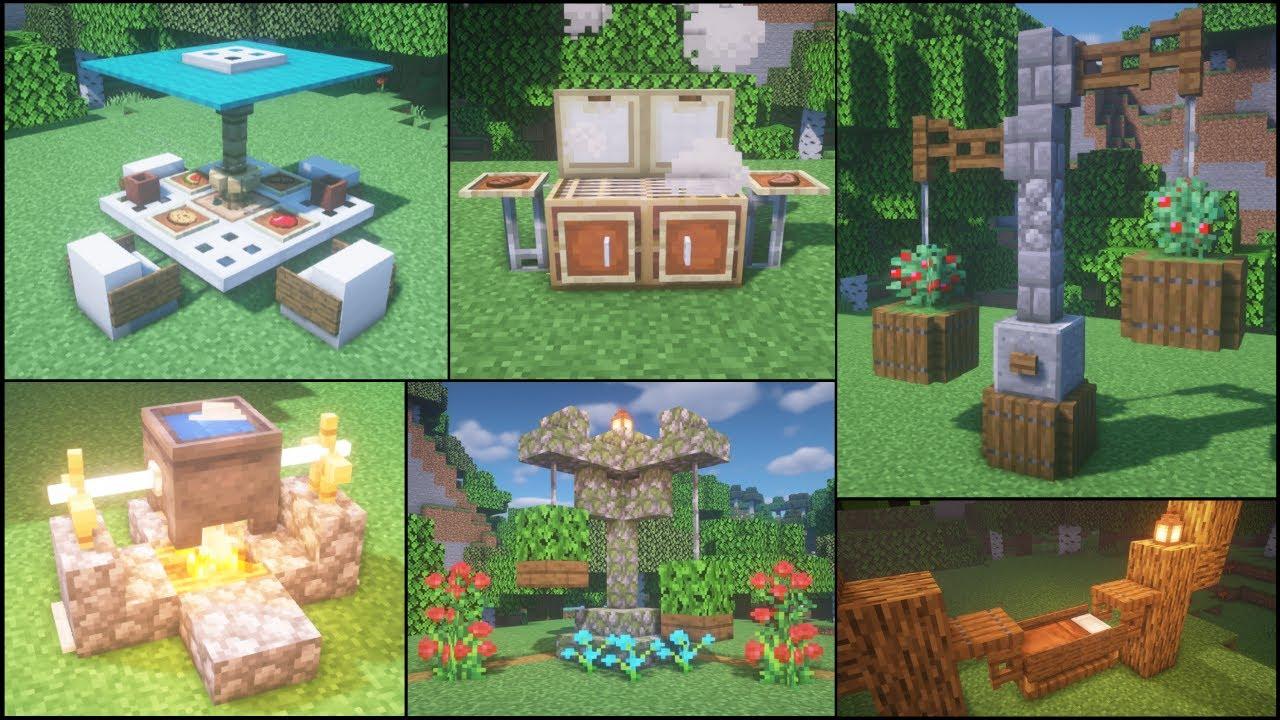 Minecraft: 30+ Garden Build Hacks and Ideas - Gardening Ace