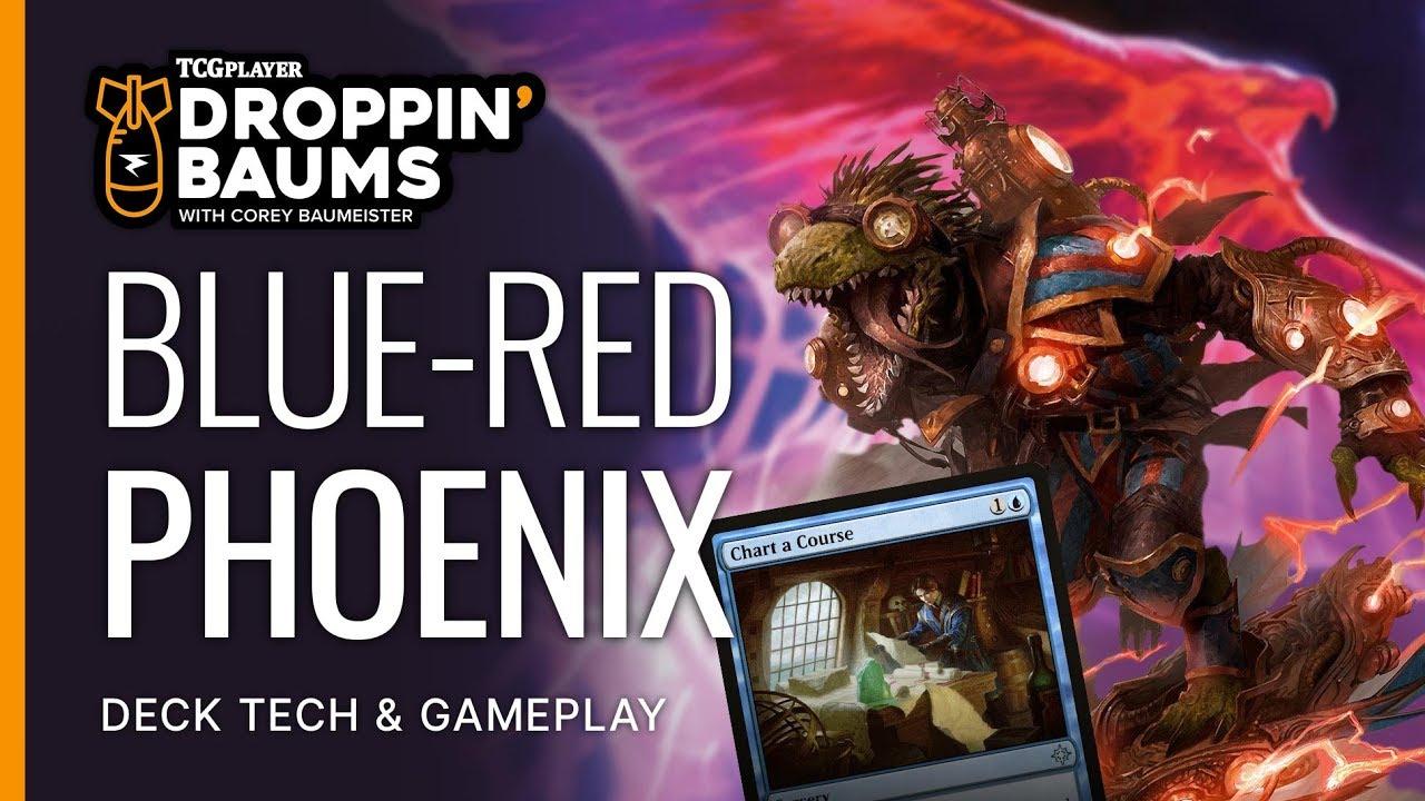 Droppin' Baums - Izzet Phoenix by Corey Baumeister - Magic the