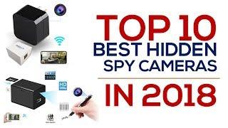 Video Top 10 Best Hidden Spy Cameras in 2018 download MP3, 3GP, MP4, WEBM, AVI, FLV Agustus 2018