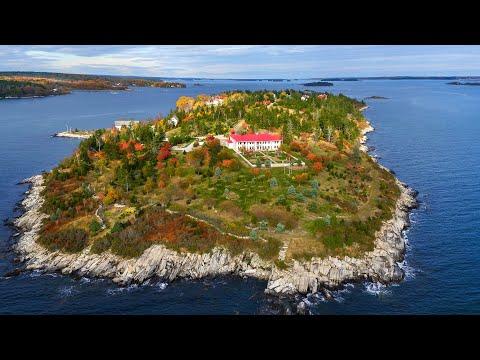 'Magical Island Kingdom' For Sale Of Maine Coast