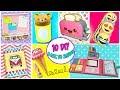 10 Amazing DIY BACK TO SCHOOL - Make your School Supplies   aPasos Crafts DIY
