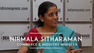 Nirmala Sitharaman On FDI In E-commerce, Ease of Doing Business & Exports Package