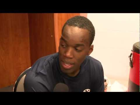 2012 NCAA Tournament: BYU vs Marquette Postgame - Charles Abouo