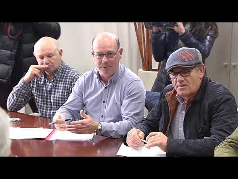 Imaxes da reunión do Comité de Ferroatlántica co Conselleiro de Industria