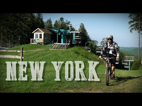 Mountain Biking in New York - Ellicottville IMBA Epic (2018) [4k]