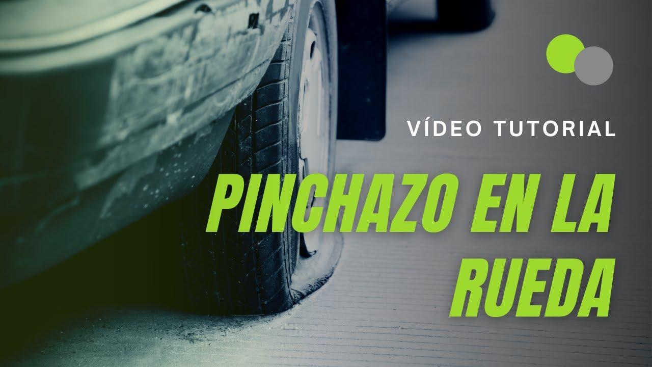 Cmo reparar un pinchazo en una rueda o neumtico  YouTube