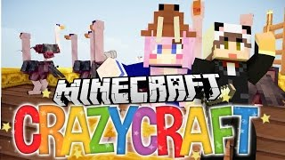 Release the Ostriches! | Ep 32 | Minecraft Crazy Craft 3.0