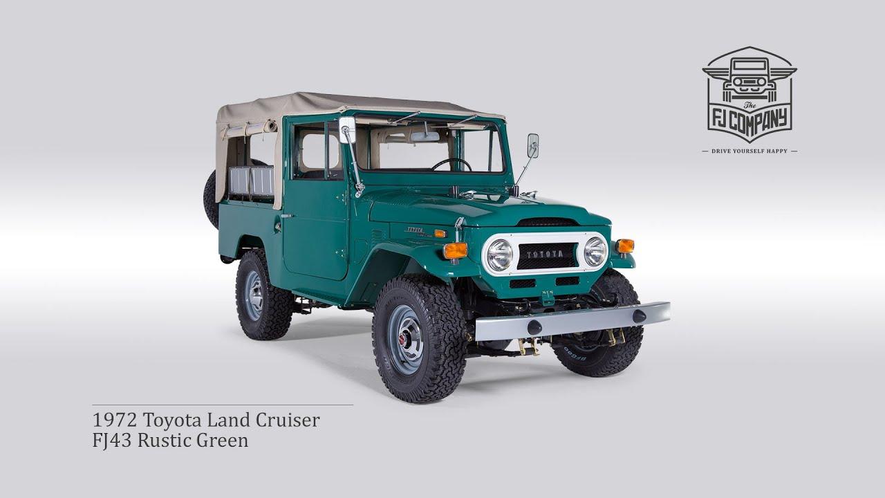 1972 Toyota Land Cruiser FJ43 Rustic Green FHD