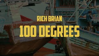 Rich Brian - 100 Degrees (Lyric Video)