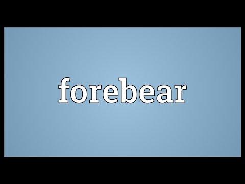 Header of forebear