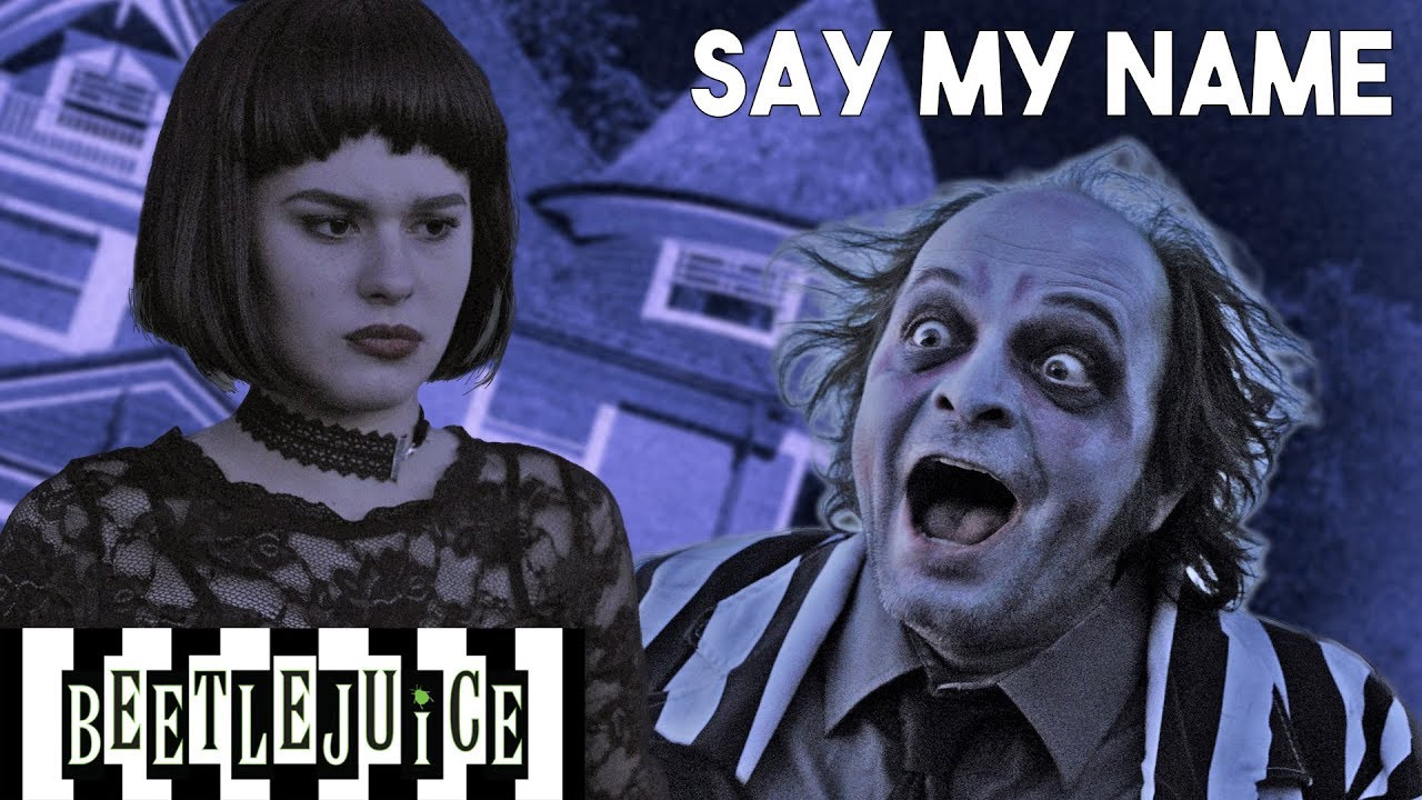 Say My Name Beetlejuice The Musical In Real Life Youtube