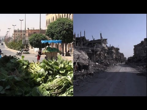 Syria's Raqa before, during and after IS 'caliphate'